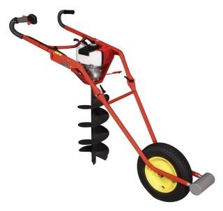 Tarrière sur roue